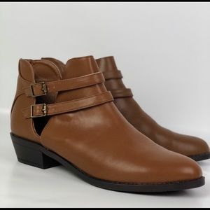 Forever 21 brown booties
